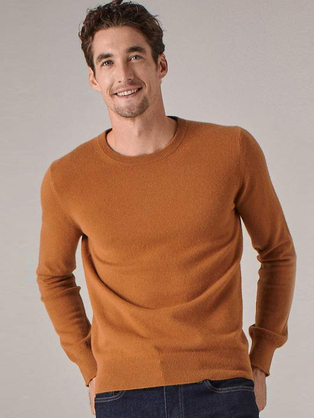 Essential Cashmere by Naadam | Men's Capsule Wardrobe on The Good Trade