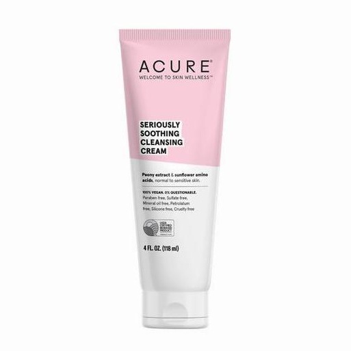 Cruelty Free Facial Cleansers - Acure Seriously Soothing Cleanser