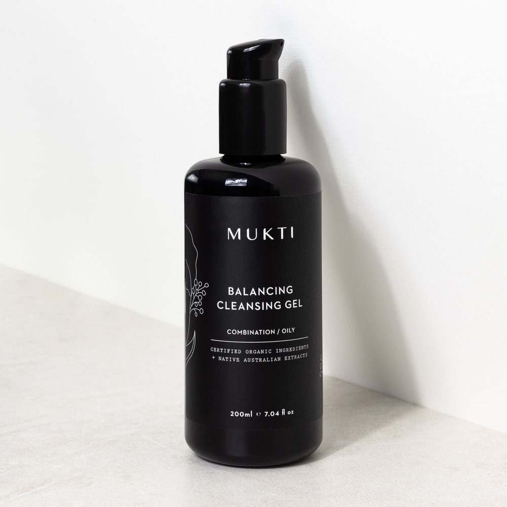 Natural Skincare - Mukti Organics Balancing Gel Cleanser