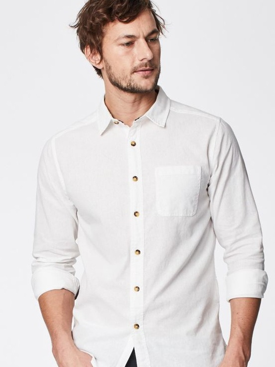Avro Classic Hemp Shirt by Thought | Men's Capsule Wardrobe on The Good Trade
