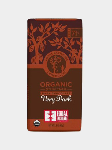 Fair Trade Organic Dark Chocolate | Equal Exchange // Sustainable Valentine's Day Gifts For Men on The Good Trade