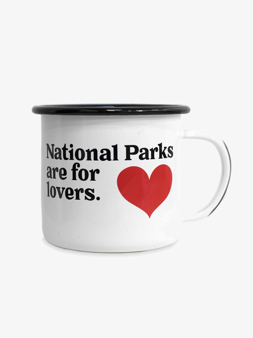National Parks Enamel Mug | Parks Project // Sustainable Valentine's Day Gifts For Men on The Good Trade