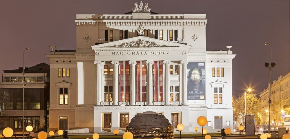 Latvian National Opera and Ballet // Conscious Winter Travel Destinations