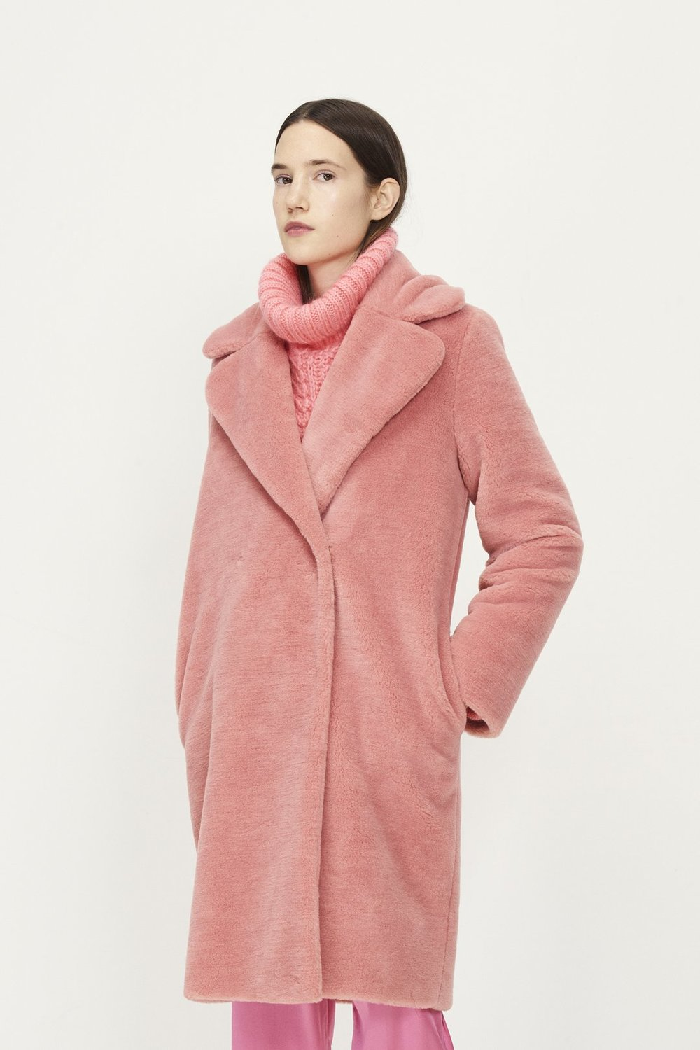 Concord Faux Fur Jacket from Stine // Ethical Winter Fashion