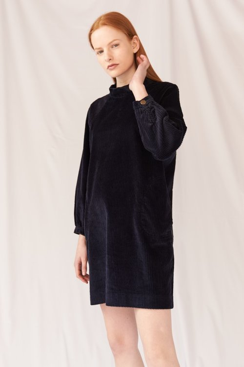 Mih Jeans Corduroy Dress // Sustainable Corduroys Edit