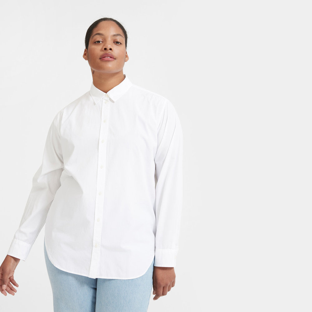 Everlane Poplin shirt // Hollywood Outfit Inspiration - To All The Boys I've Loved Before