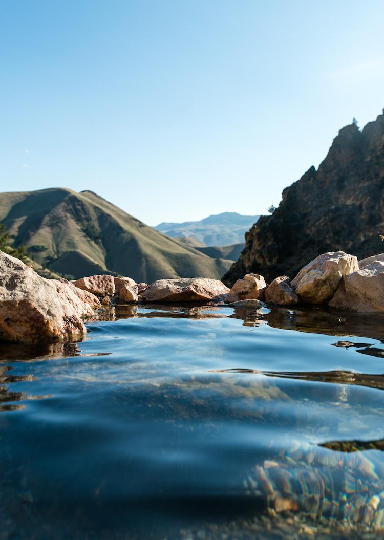 Goldbug Hot Springs in Idaho