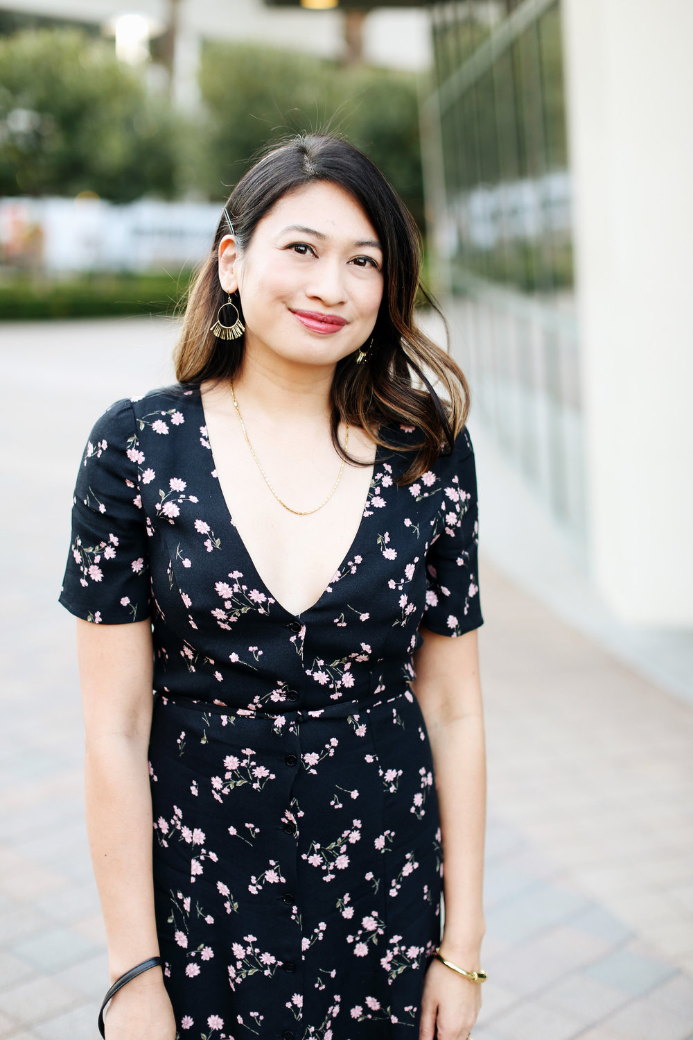 Date night dress | A Week Of Polished & Professional Outfits With Sustainable Lifestyle Blogger Jonilyn Brown on The Good Trade