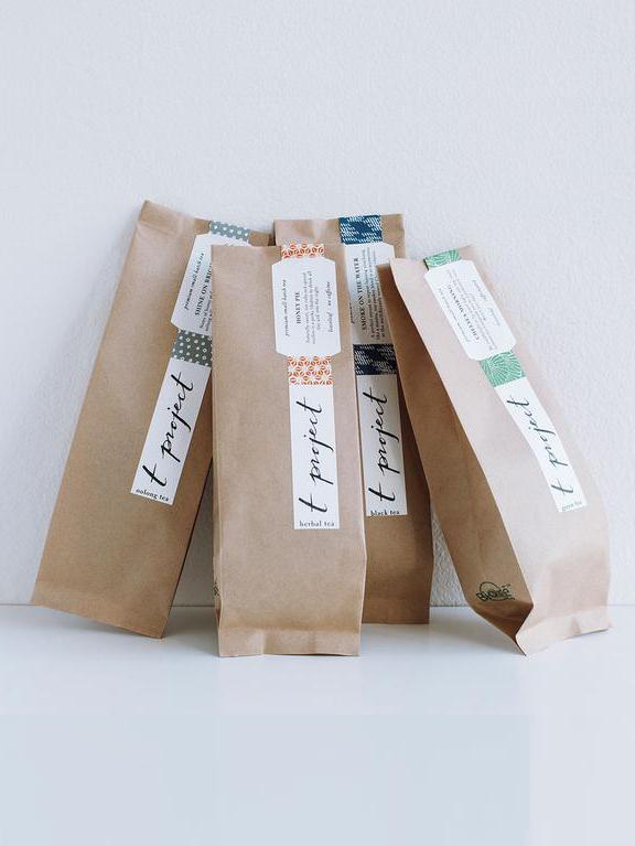 Organic & Fair Trade Teas - T Project