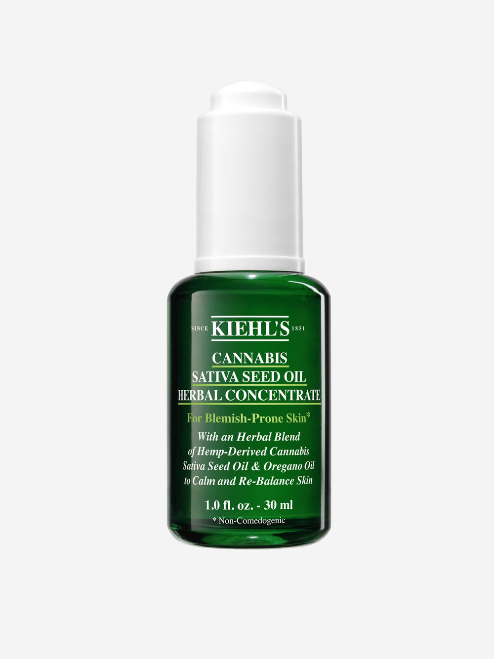 Hemp Based Beauty Products - Kiehl's Cannabis Sativa Seed Oil Herbal Concentrate