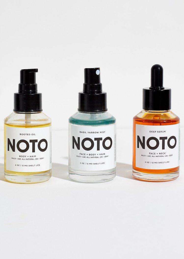 Gender Neutral Beauty & Skincare Brands - NOTO Botanics