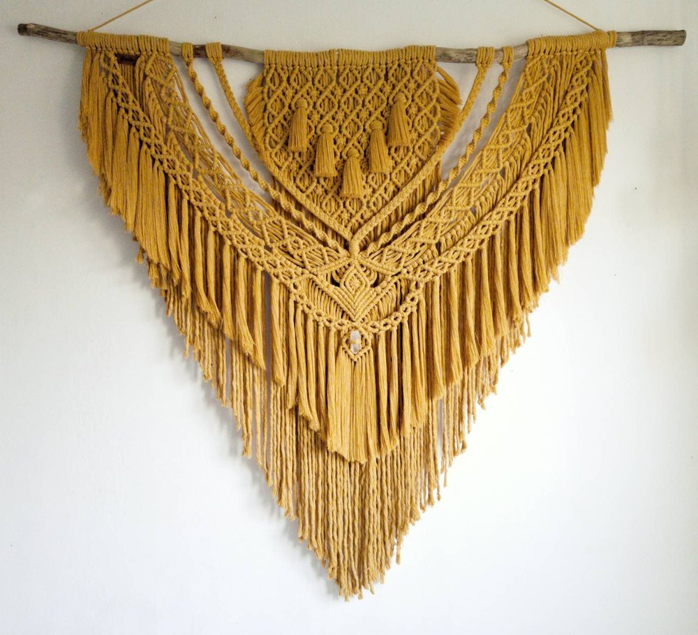 Handcrafted Macrame Wall Hangings - INA by Wild&Feather