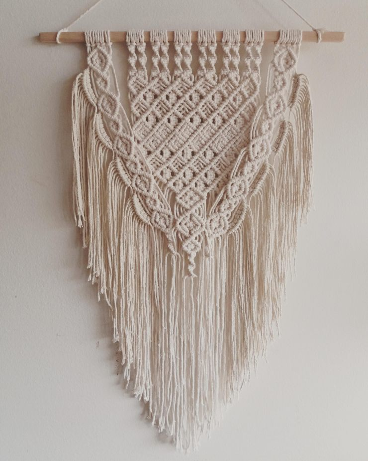 Handcrafted Macrame Wall Hangings - Lace by Liinala