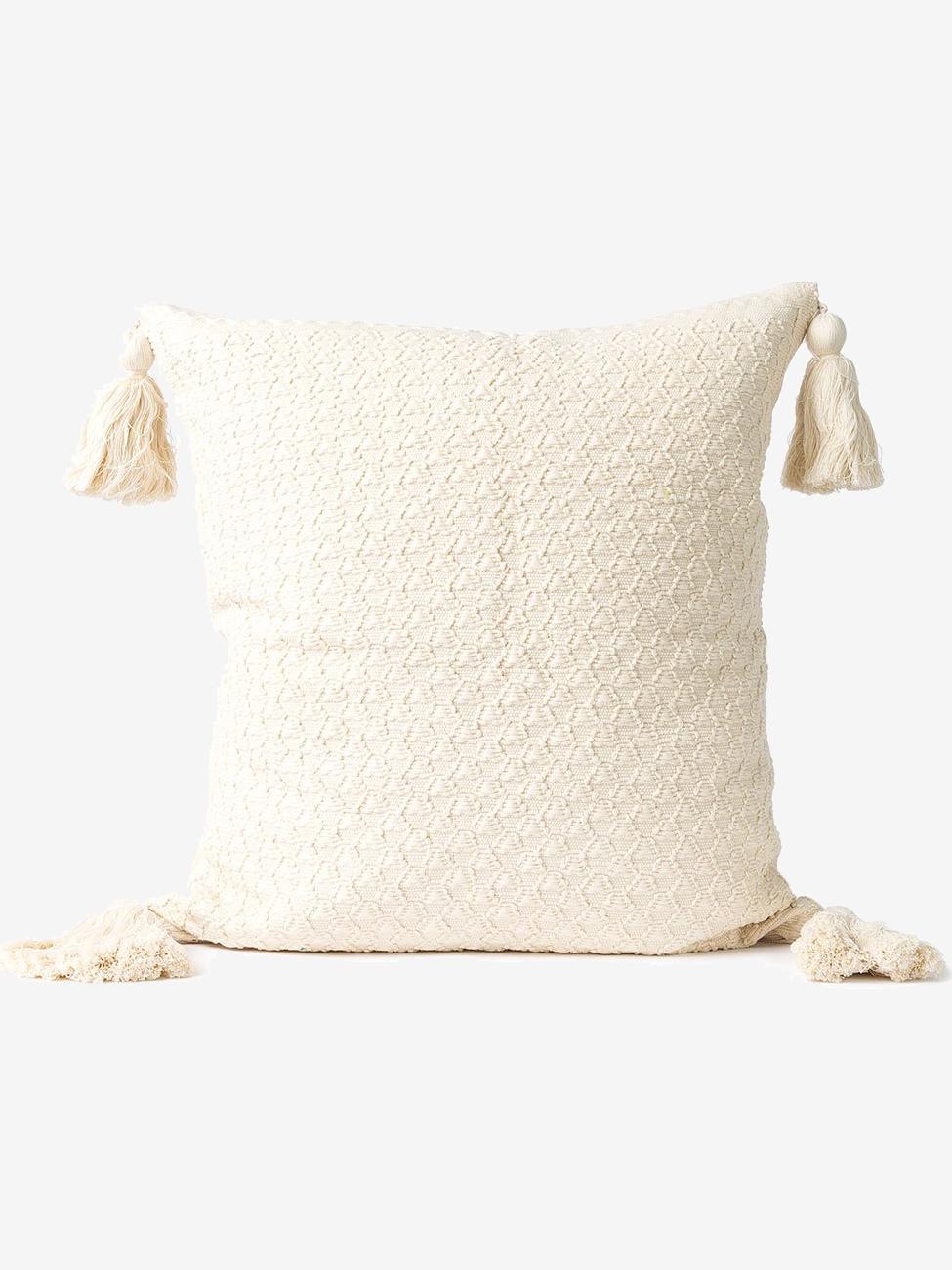 The Little Market Woven Pillow