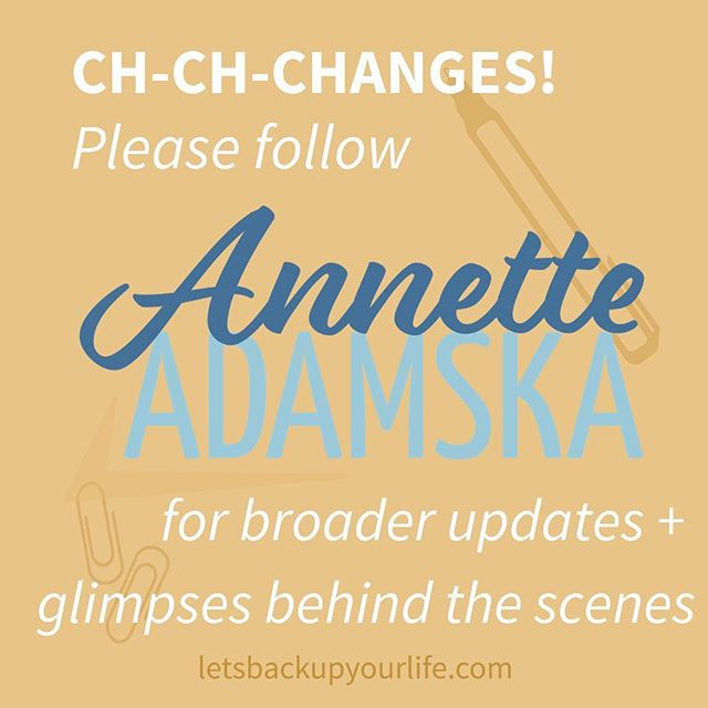 Hi y'all! . Exciting things happening here at BUYL HQ. . To keep tabs on all the things our founder, @annetteadamska is up to, please follow her business IG account! . She will be sharing new service offerings, broader tips/tricks, and the behind the scene glimpses. . @letsbackupyourlife is still here for all things Back Up Your Life and Back Up Your Business. .  Here's to #forwardmotion!!! #annetteadamska #letsbackupyourlife #pivot #work #ladyboss #creativeentrepreneur #priority #perspective #projectmanager #integrator #strategicpartner #onwards #stagemanager #durham #durhamnc