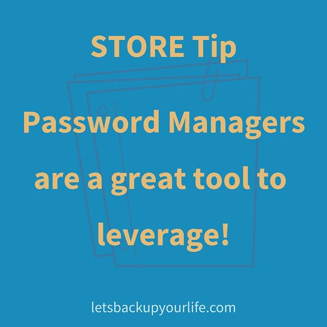 Did you know that Passwords Managers don't have to store JUST passwords? 😲 . Lean the ways (and reasons) you can leverage a password manager at @annetteadamska 's session at the NAPO 2019 Conference in Fort Worth, TX. . Back Up Your Business: Is it Ready for Anything? . Session number 2-4, on Friday, April 5th at 1:30pm. . We promise actionable steps, and leaving the room with some implementation already completed! . Bring your 💻or📱for our Implementation time. . Link for more session information in bio. . #napo #napo2019 #fortworth #tx #educationisbiggerintexas #educationisbiggerintx #conference #presentation #professionalorganizer #professionalorganizers #productivity #organizing #productivityconsultant #smallbusiness #conferencepresenter #naponc #education #lifelonglearner