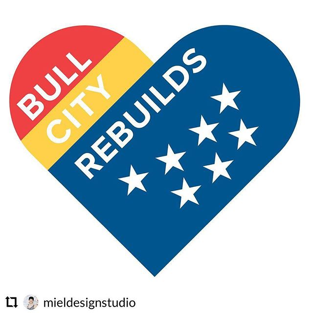 In response to the #durhamexplosion my dear friend @mieldesignstudio started a gofundme to benefit families, first responders, and businesses impacted by the explosion today in Durham, NC. ❤️💛💙 There will be medical bills, lost wages, expenses not covered by insurance, and so many immediate needs. Please consider donating or sharing if you can. #bullcityrebuilds (link in profile) ❤️💛💙 #bullcity #bestofthebull #instagood #smallactsofkindness #bettertogether #bullcitystrong #support #durham #durhamnc #downtowndurham #downtowndurhamnc #uniteddurham #durhamunited #families #firstresponders #business #smallbusiness #sharewidely #shareoften
