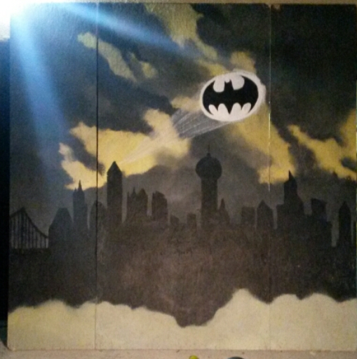 Gotham City- Photobooth backdrop