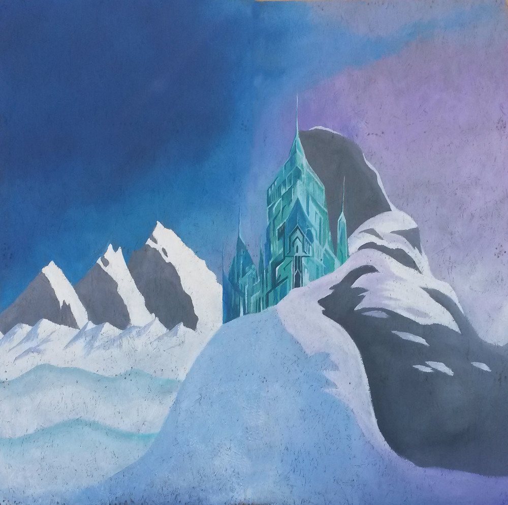 Elsa's Castle - Photobooth backdrop