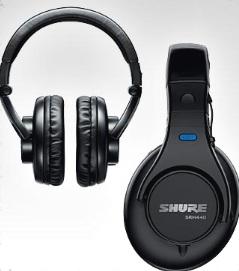 Shure+headphones