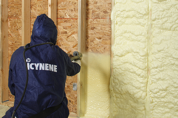 Residential and Commercial Icynene Spray Foam
