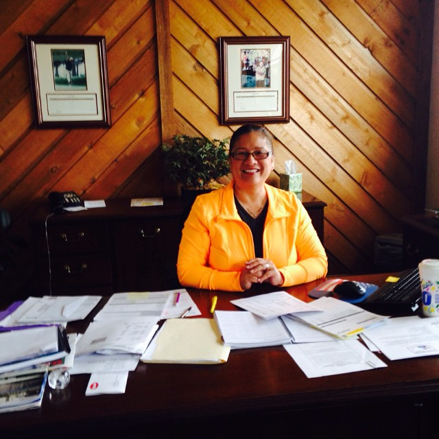 insulUSA President, Maribeth Gardner-a day at the office!