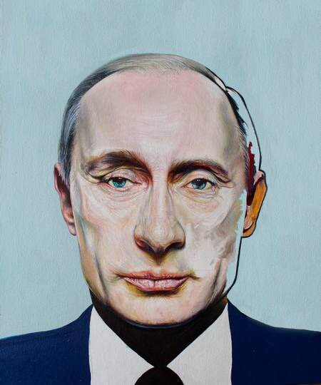 What Lies Beneath: 'Putin' by David Booth