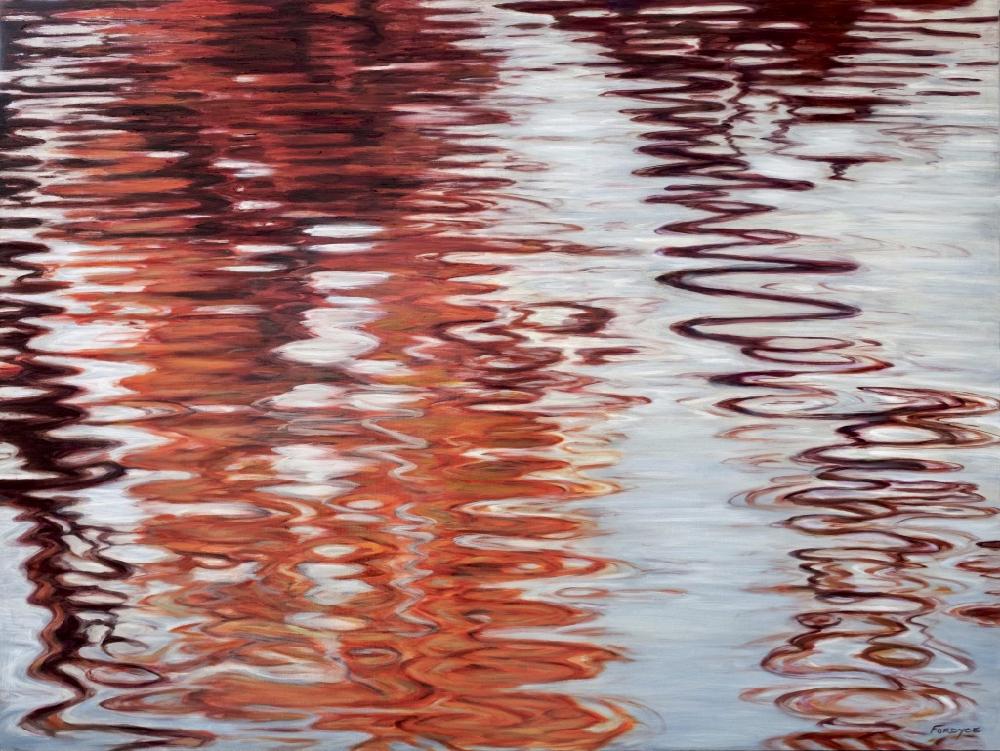 Swirl in Reds