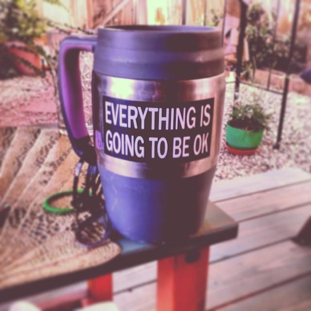 Thanks for the reminder Bubba Mug..