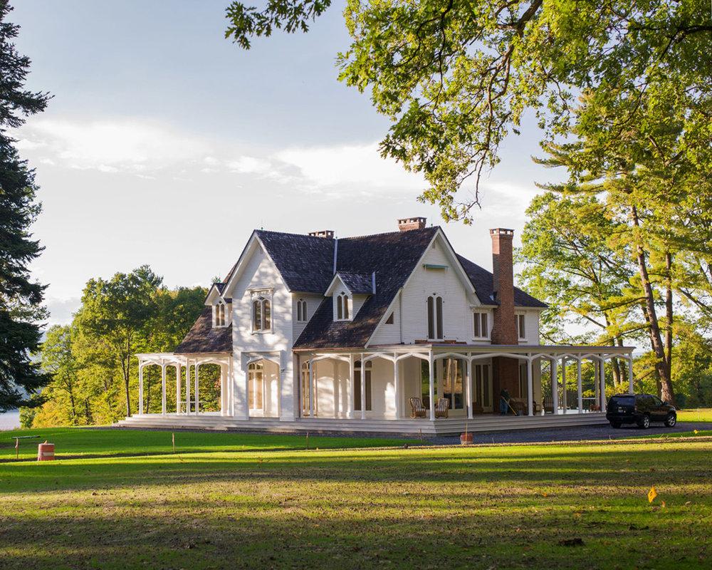 Hudson River Farm House