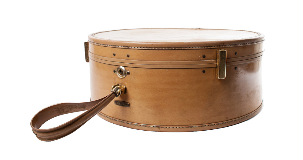 Vintage - Beige Hat Box