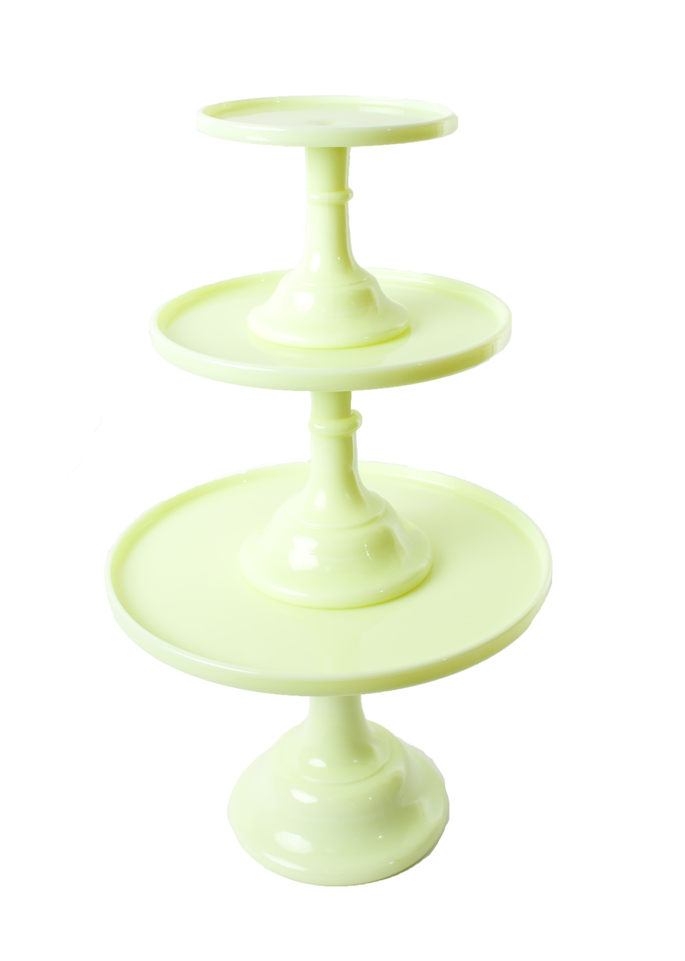 'Butter Cream' Cake Stands (shown stacked)