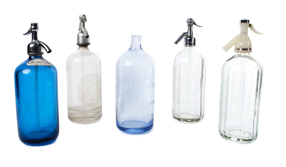 Selzer bottles