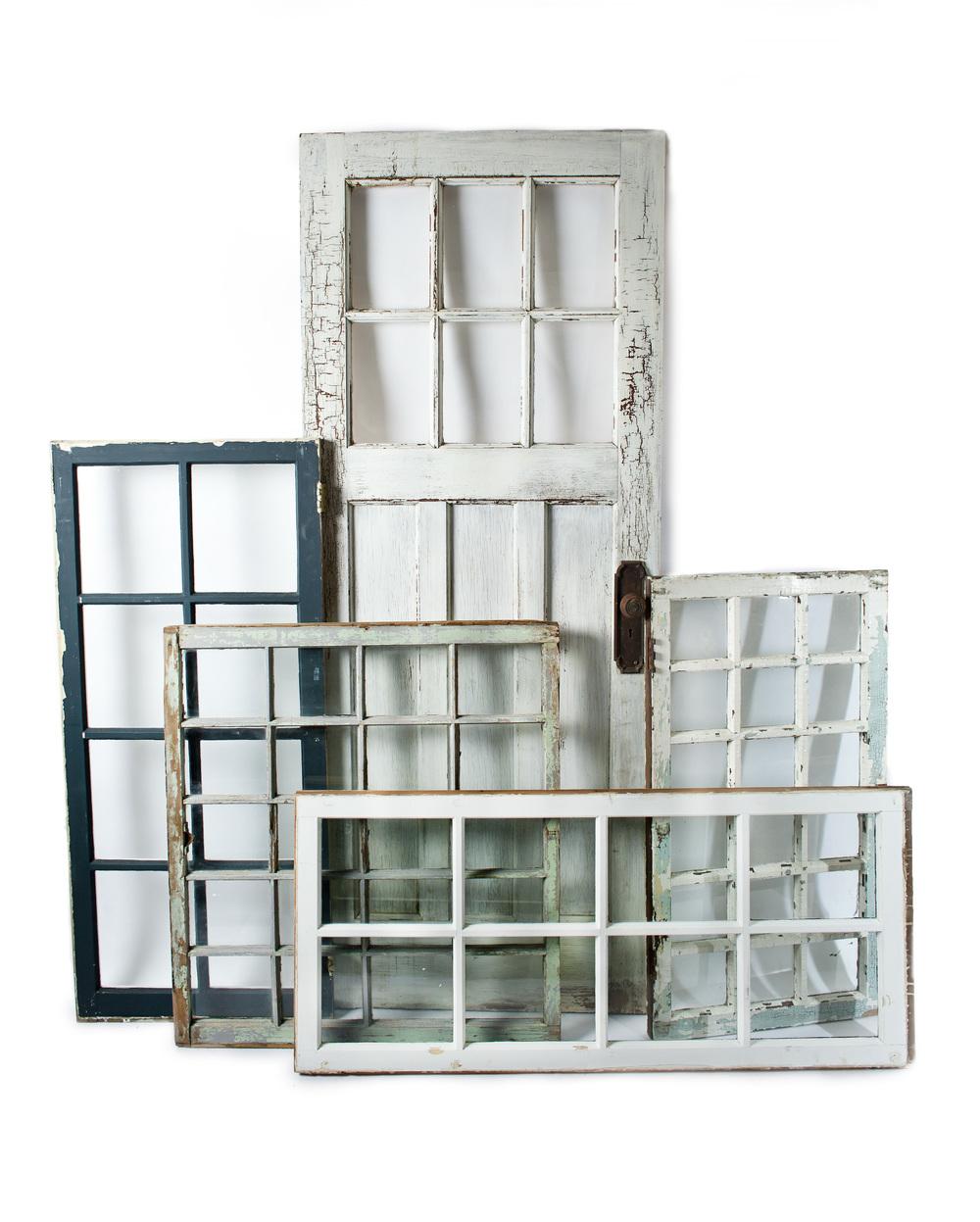 Assorted Windows & Doors