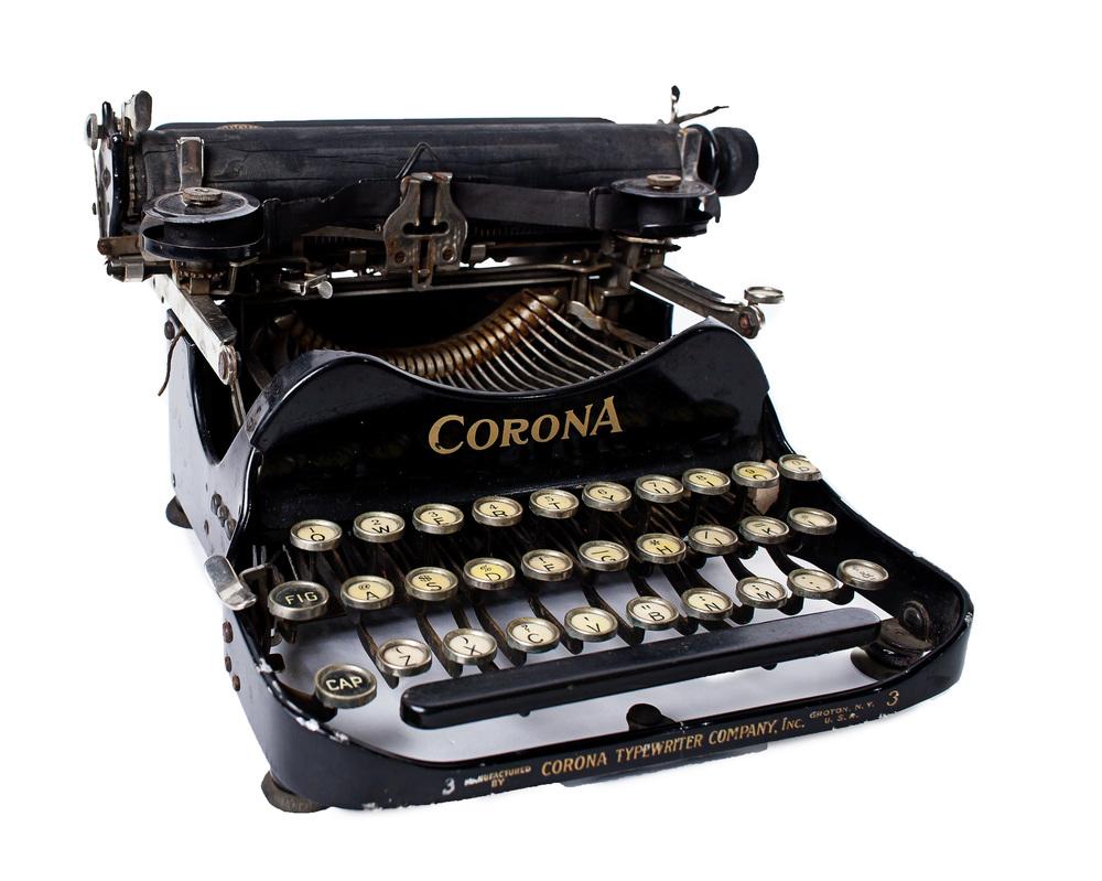 Small Corona Typewriter