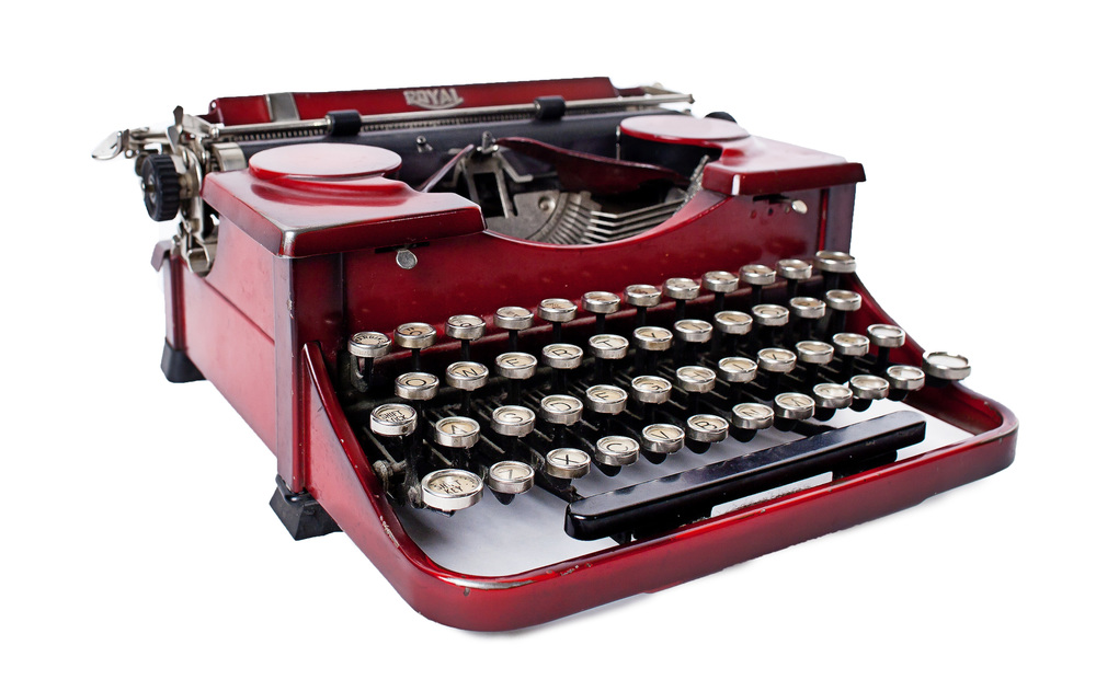 Red 'Royal' Typewriter