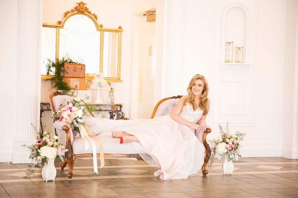 Photo by: Red Bloom Photography  Styled by: Reflections Wedding & Events