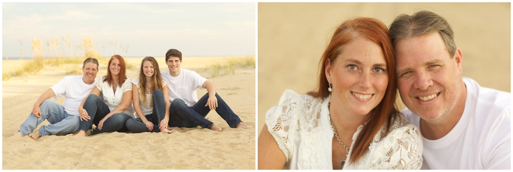 Virginia Beach Large Group Family Photography at the Beach