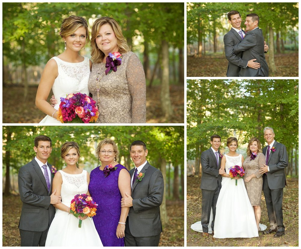 chesapeake backyard wedding photographer