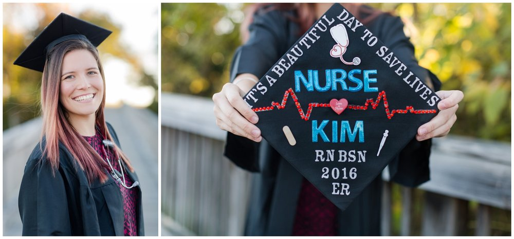 elovephotos smithfield nursing school graduation photography