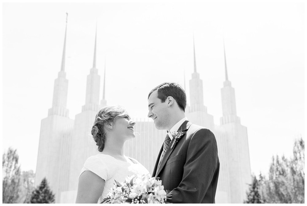 washington dc lds mormon spring wedding photography by elovephotos