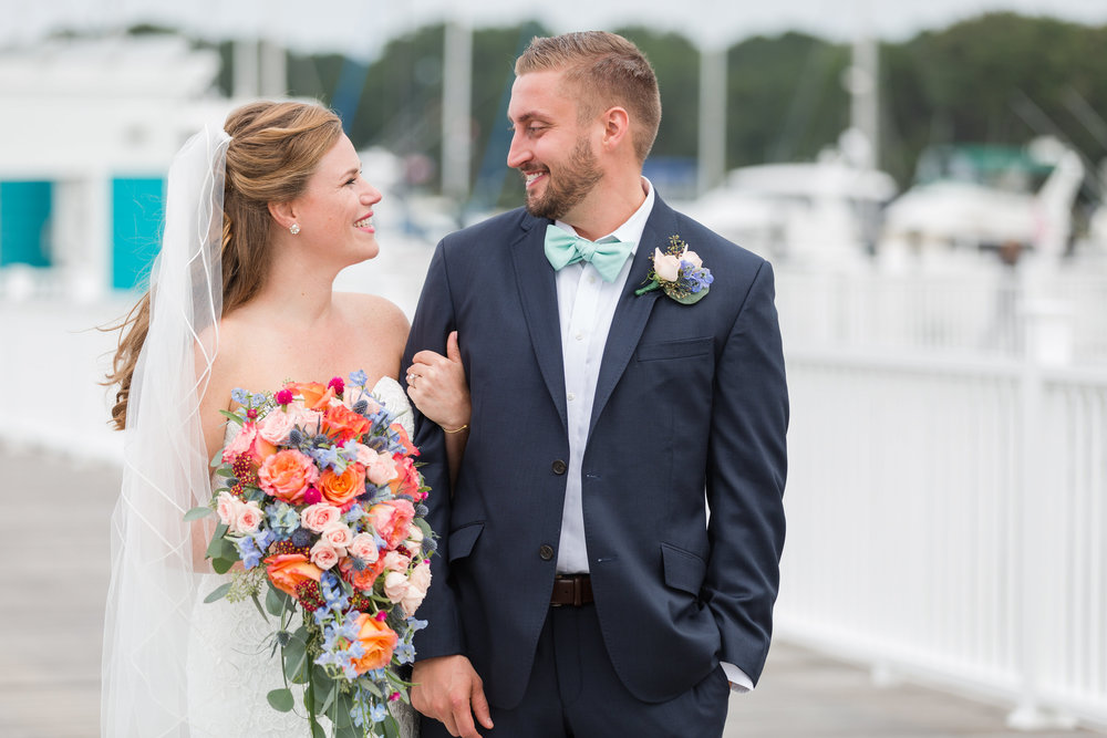 Kaitlin + John - Oyster Farm at Kings Creek