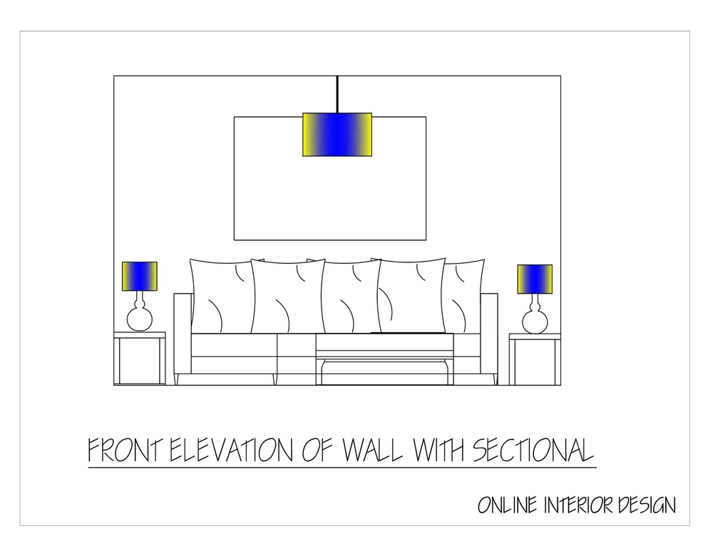 Family Room design elevations