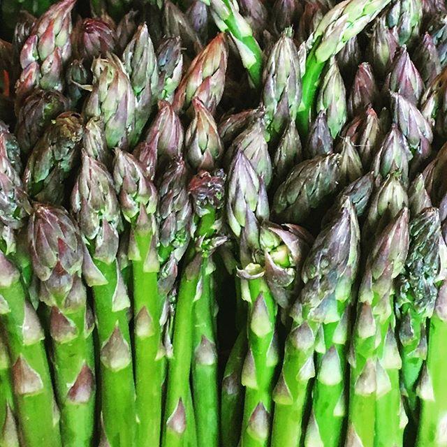 Hadley Grass. . . #hadleygrass #asparagus #czajkowskifarm #food52grams #escapebrooklyn #andnorth