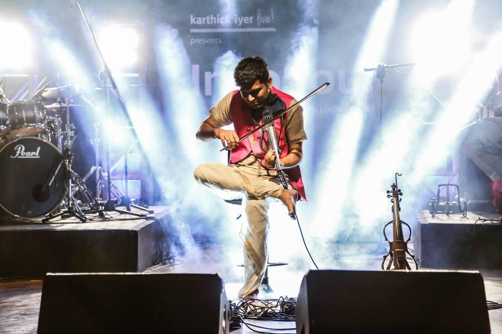Indian Violinist Karthick Iyer