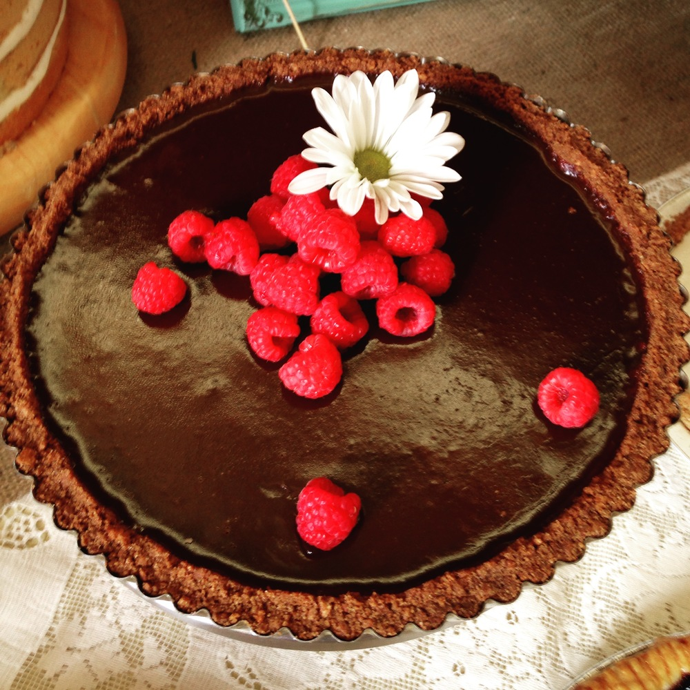Chocolate Ganache Tart.JPG