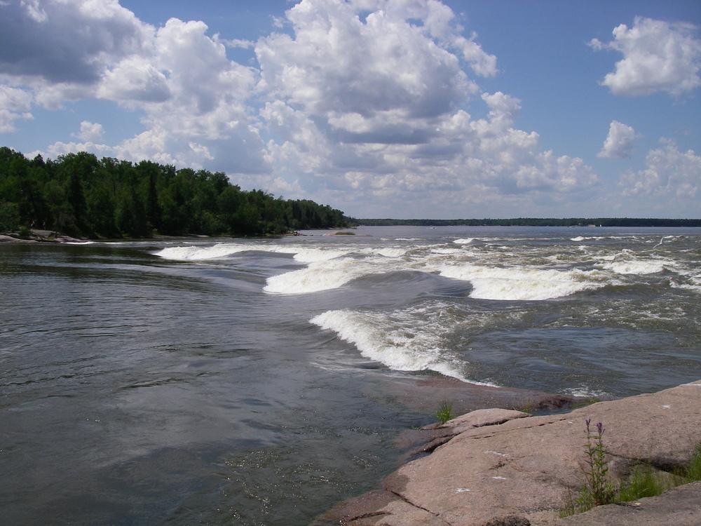 Sturgeon Falls, Whiteshell Provincial Park, Manitoba