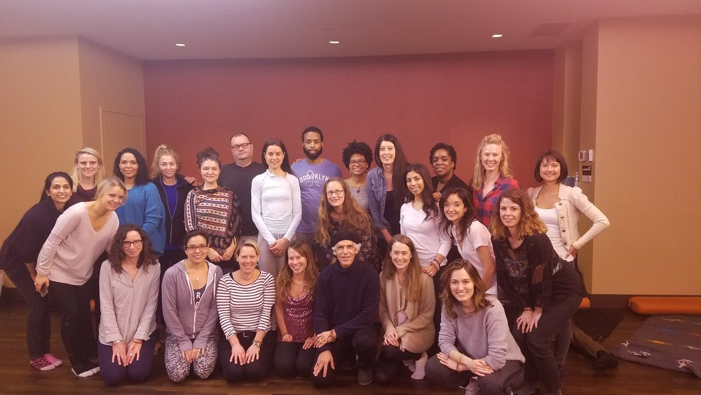 January 2017 teacher training graduates with our beloved Nalanda teachers!