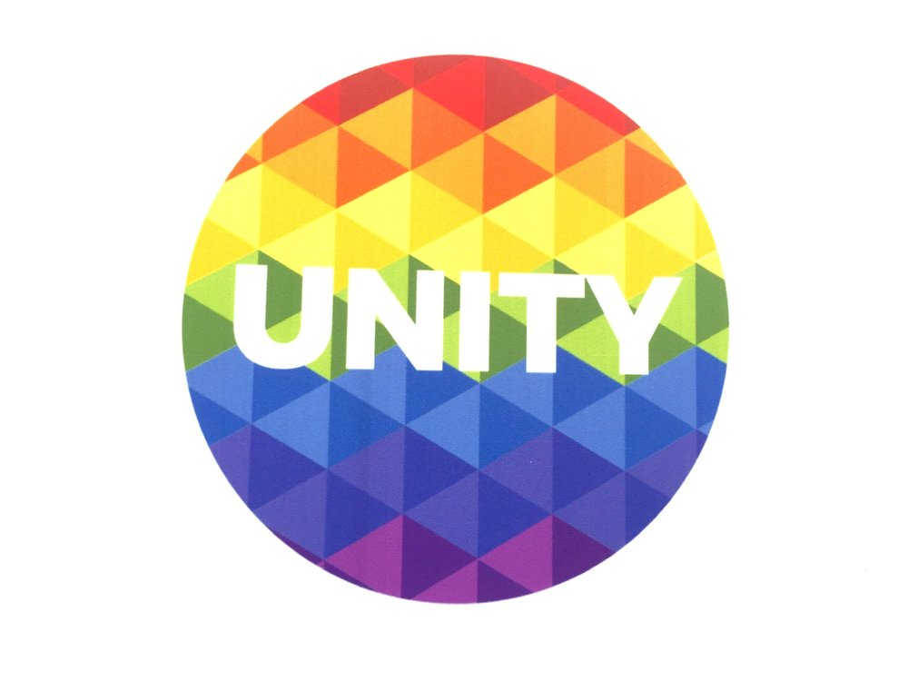 UNITY PROJECT - An interactive public art project created in response to the divisiveness and negative rhetoric in America.