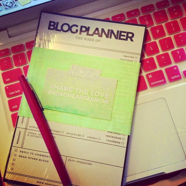 Planner Designed by Heart & Arrow Design ||